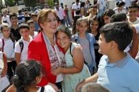 ANADOLU LİSESİ - Başkan Pekdaş'a Öğrencilerden Sevgi Seli
