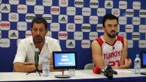 SLOVENYA - Basketbolda Milli Maçın Ardından
