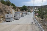 Büyükşehirden Yenipazar'a Parke Taşlı Yol Desteği