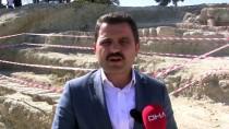 GELIBOLU YARıMADASı - Çanakkale'de Patlamamış Top Mermisi Bulundu