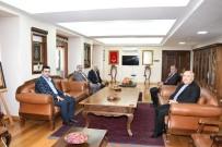 BAŞSAVCı - Cumhuriyet Başsavcısı Çevik Rektör Gönüllü İle Bir Araya Geldi