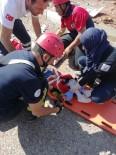 Denizli'de Otomobil Takla Attı, Aile Ölümden Döndü