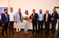Didimli Genç İşadamlarından Başkan Çerçioğlu'na Ziyaret