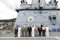 DENIZ HARP OKULU - Dünyanın En Büyük Tank Çıkarma Gemisi  'TCG Bayraktar' Trabzon Limanı'na Demirledi