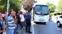 Edirne'de Minibüsün Çarptığı Kadın Yaralandı