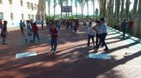 İPEKYOLU - İpekyolu'nda Okullar Asfaltlarla Renkleniyor