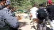 PROTESTO - İsrail Polisinden Mescid-İ Aksa Korumalarına Ve Cemaate Saldırı