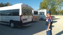 REHBER ÖĞRETMEN - Jandarma'dan Okul Servislerine Sıkı Denetim