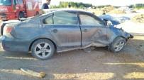 VAHDETTIN - Kahramanmaraş'ta Trafik Kazası Açıklaması 4 Yaralı