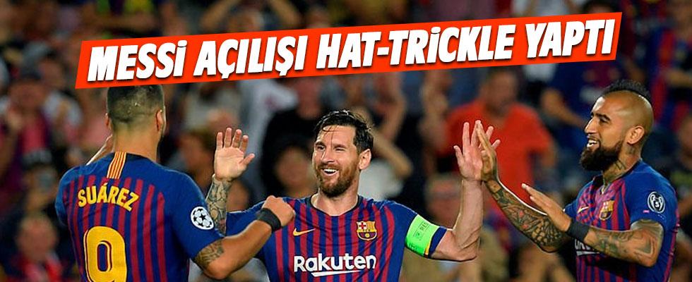 Messi hat-tickle başladı! Barça şov...