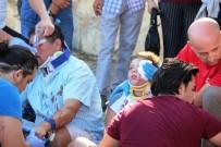 TAKSİ ŞOFÖRÜ - Minik Çocuğu Kanlar İçinde Görenler Şok Oldu
