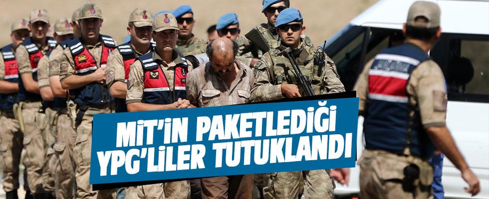 MİT'in paketlediği 9 YPG'li tutuklandı