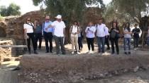 YAŞAR HOLDING - Nysa Antik Kenti'nde Taban Mozaiği Bulundu