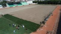 AMATÖR - Ramiz Turan Stadı'nda Çim Ekimine Başlandı