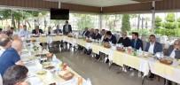 DOĞU KARADENIZ - Rus Büyükelçi Yerhov Trabzon'da İşadamları İle Yemekte Buluştu
