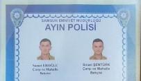 Samsun'da 2 Bekçi 'Ayın Polisi' Seçildi