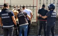 Samsun'da Narkotik Ekipleri Okullar Bölgesinde Uygulama Yaptı