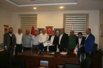 MUSTAFA PEHLIVAN - Sanayi Esnafı Yeni Sanayi Sitesi Projeleriyle İlgili AK Parti İl Başkanı Revi İle Görüştü