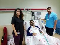 SDÜ'de İlk Kez Koltuk Altı Kesisi Yöntemiyle Kalp Ameliyatı