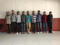 PROTESTO - O teröristler mahkemeye sevk edildi
