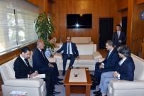 DıŞ EKONOMIK İLIŞKILER KURULU - Tacikistan Büyükelçisi Rajabiyon Başkan Altay'ı Ziyaret Etti