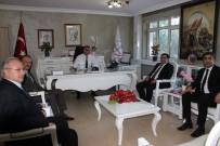 DOĞU ANADOLU - Talim Ve Terbiye Başkanlığı Üyelerinden Ziyaret