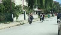 AMATÖR - Tek Teker Üzerinde Hareket Yapan Genç Ölüme Davetiye Çıkardı
