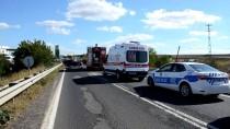 Tekirdağ'da Trafik Kazası Açıklaması 1 Ölü, 1 Yaralı