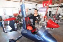 Türkiye'nin İlk Yerli Ve Milli 'Gyrocopter'i Mersin'de Üretildi