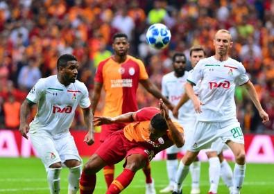 UEFA Şampiyonlar Ligi Açıklaması Galatasaray Açıklaması 1 - Lokomotiv Moskova Açıklaması 0 (İlk Yarı)
