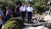 Vali Demir, Taşyaran Tabiat Parkı'nı Gezdi