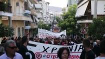 IRKÇILIK - Yunanistan'da Olaylı Irkçılık Karşıtı Gösteri