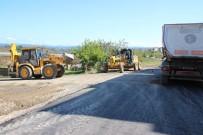 Akçakoca'da Asfalt Çalışmaları Sürüyor