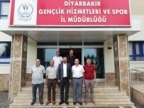 GENÇLİK VE SPOR İL MÜDÜRÜ - Atletizm Federasyonu Başkanı Çintımar'dan Ziyaret