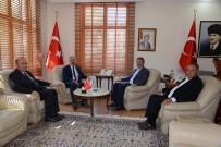 ŞEKER FABRİKASI - Başkan Akay Tokat Valisini Ziyaret Etti