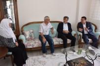 YENIDOĞAN - Başkan Bakıcı'dan Hacılara Ziyaret