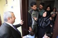 İNTİZAR - Başkan Baran, Suriyeli Acılı Aileye Taziye Ziyareti