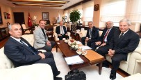 REHABILITASYON - Başkan Kocaoğlu'nun Ankara Mesaisi