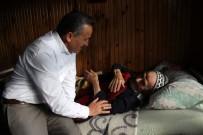 HıZıR - Başkan Tutal, Yaşlı Çifti Ziyaret Etti