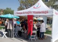 Boğazlıyan'da Vatandaşlara Sağlık Taraması