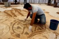DAĞ KEÇİSİ - Bölgenin En Büyük Mozaiği Restore Ediliyor