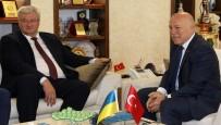 ERZURUM VALISI - Büyükelçi Sybıha'dan Başkan Sekmen'e Ziyaret