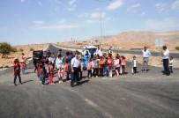 ÜST GEÇİT - Cizre'de Üst Geçit Eylemi