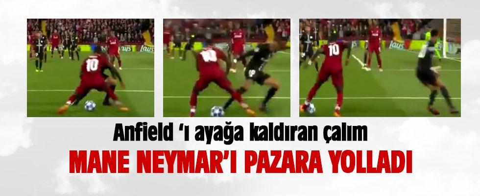 Mane Neymar'ı pazara yolladı
