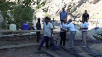 Diyarbakır Çiftçisine Belediyeden Sulama Kanalı Desteği