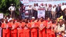 KEMER SIKMA - Gazze'de UNRWA Protestosu