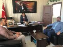 MATEMATIK - MHP'den İlçe Milli Eğitim Müdürlüklerine Ziyaret