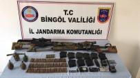 Öldürülen Teröristlerin Keskin Nişancı Tüfekleri Ele Geçirildi