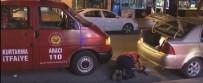 Otomobil'in İçine Kaçan Kediyi İtfaiye Kurtardı