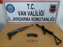 Özalp'ta PKK'lı Teröristlere Ait Silah Ve Mühimmat Ele Geçirildi